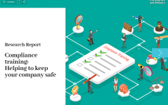 Compliance Training report – available now