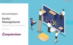 Entity Management report – available now
