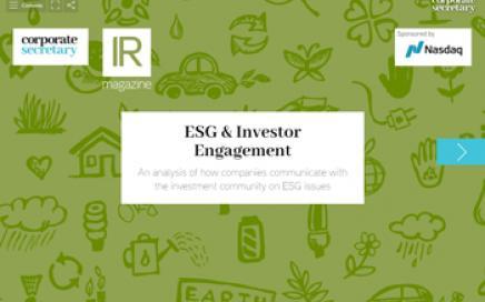 ESG & Investor Engagement