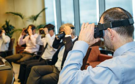How virtual reality can be used in the boardroom